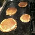 Flourless Banana Oatmeal Pancakes